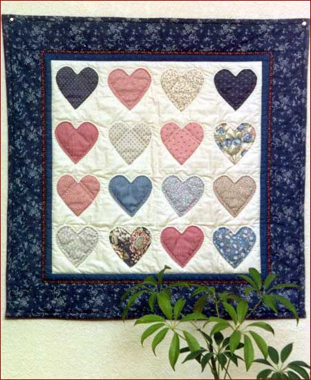 Country Hearts Pattern